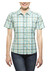 axant Alps Travel Shirt Agion Active Women blue/green check